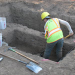 Pieces of the Puzzle: Archaeologists work along SR 49